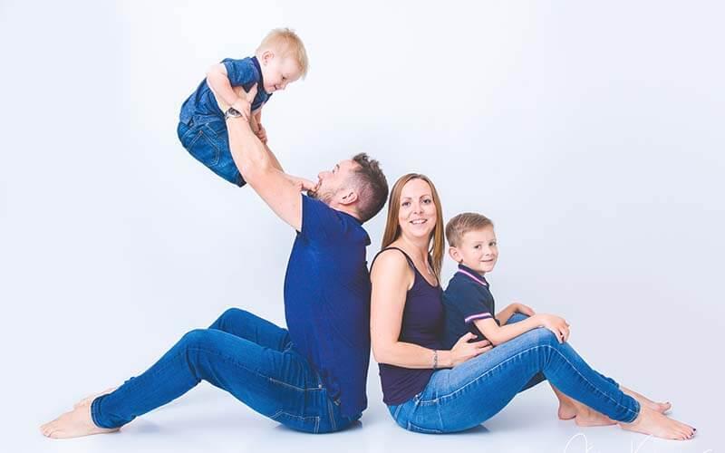 studio ถ่ายภาพ ครอบครัว